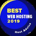Suteikiama įmonėms, esančioms tarp 10 geriausių, už geriausią svetainių prieglobos kategoriją.